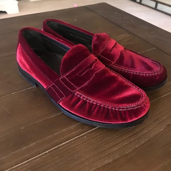 Cole Haan Shoes | Cole Haan Red Velvet